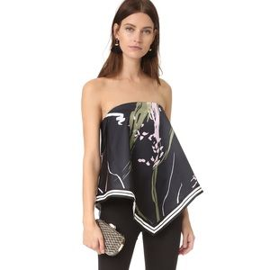 C/MEO COLLECTIVE BEEN THERE SCARF TOP